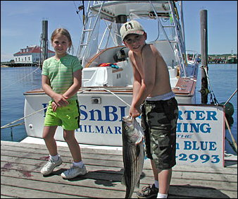Fishing on Martha's Vineyard